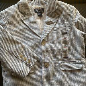 NWT seersucker jacket size 24 months